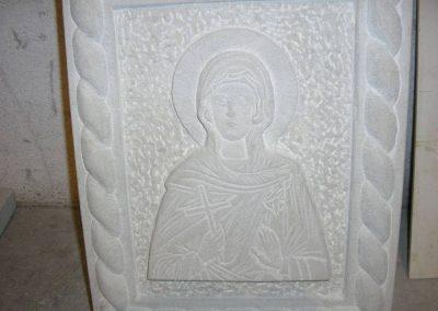 ikona od prirodnog kamena