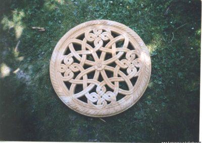 rozeta od kamena